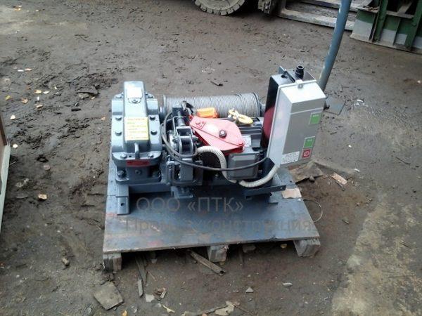 ремонт электрических лебедок